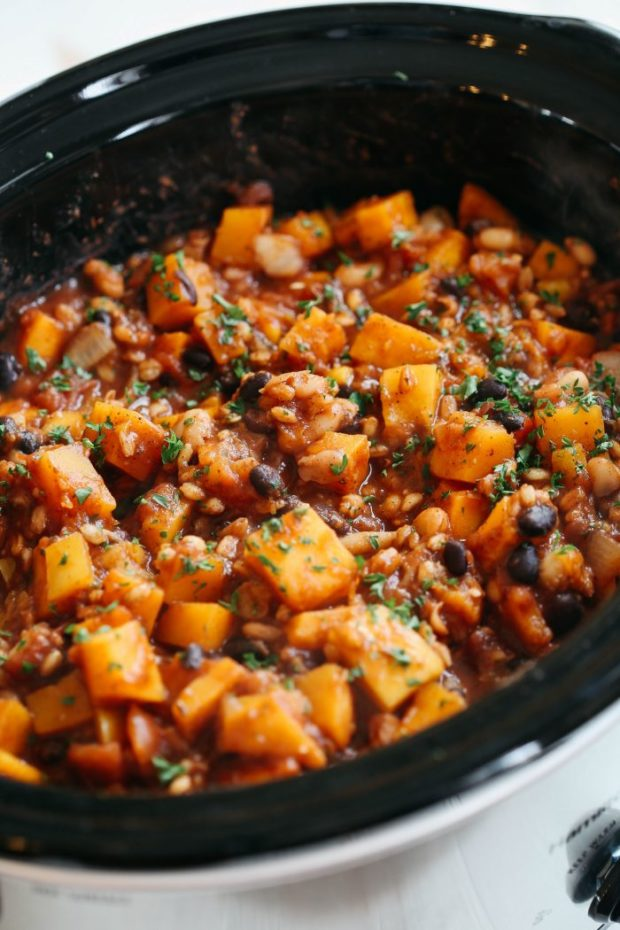 10 Vegetarian Slow Cooker Meals - Eating Made Easy
