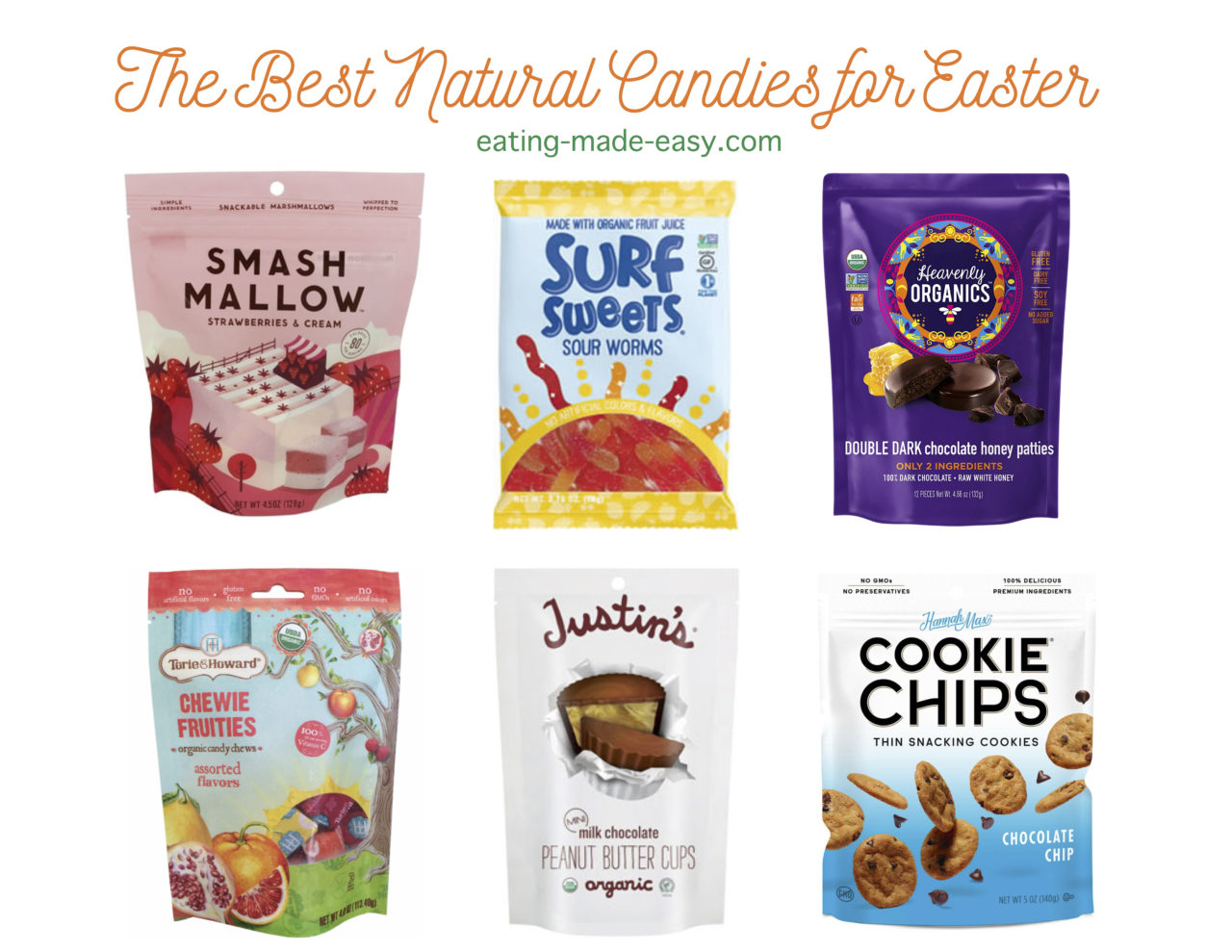 natural and organic easter candy